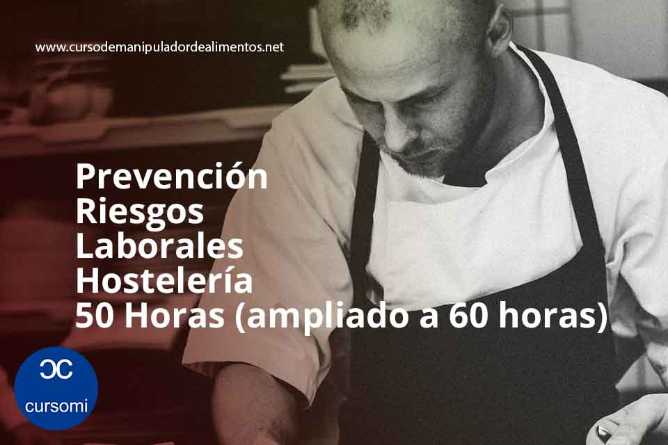 prevencion riesgos laborales hosteleria 50 horas